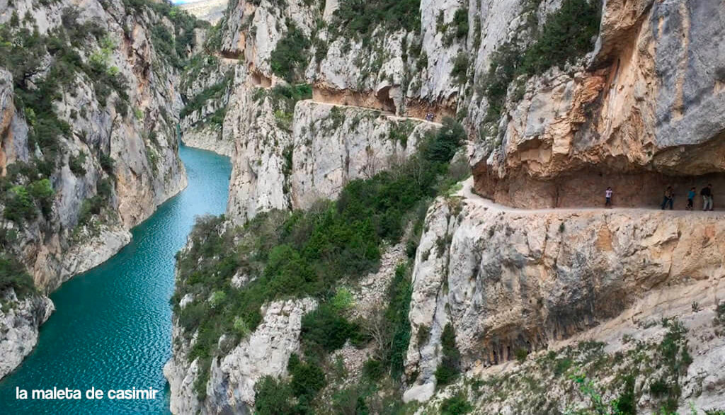 Congost, Mont Rebei. Turismo rural en Cataluña.