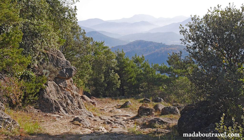 La Garrotxa. Turismo rural en Cataluña.