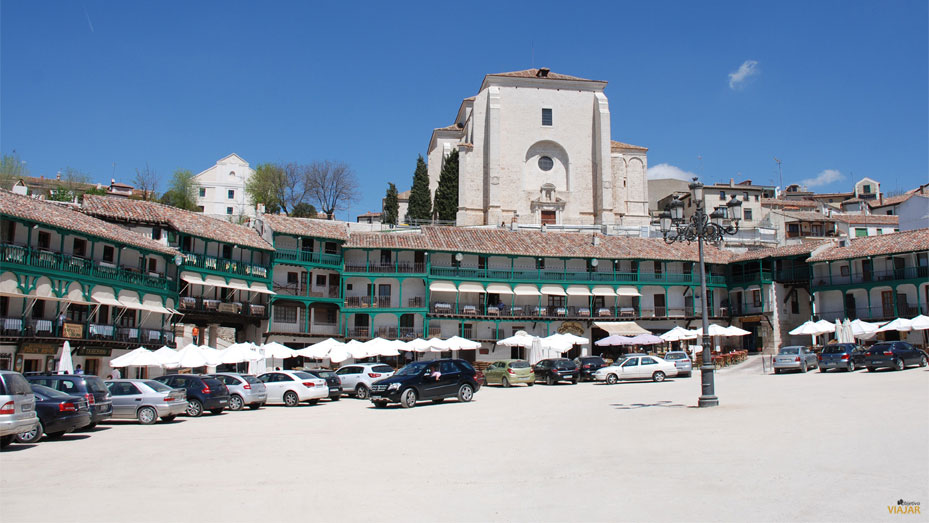 Plaza Mayor de Chinchón, Madrid
