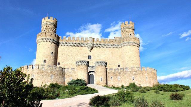 Castillo de los Mendoza, Manzanares el Real. Camino de santiago de Madrid
